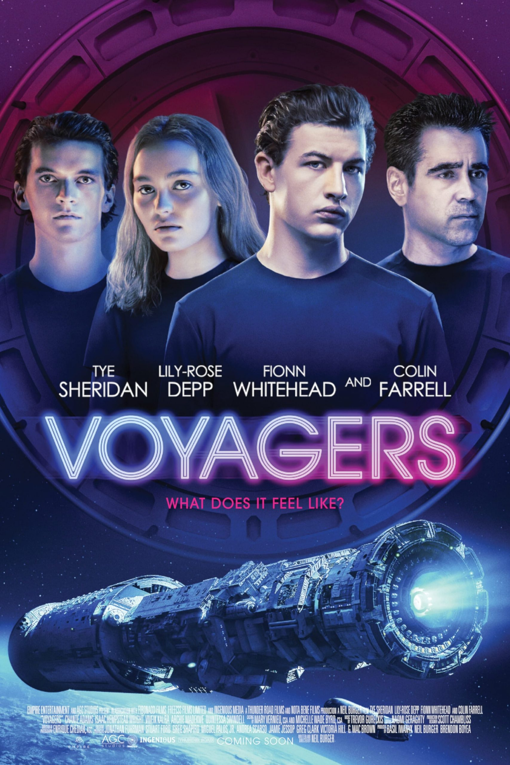 Download Voyagers (2021) Mp4